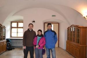 Florin Arjocu, Oana Racheleanu și Daniel I. Iancu